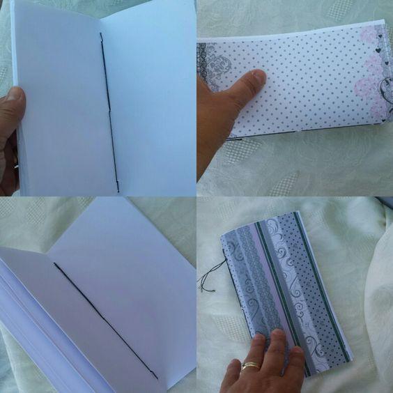 Quaderno cucito a mano😊