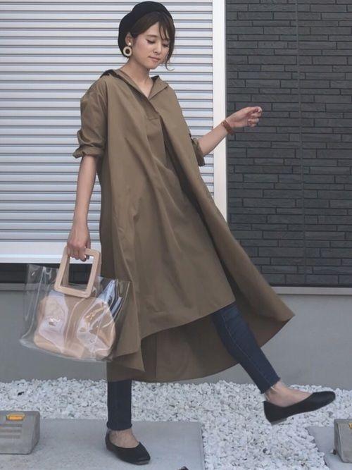 yun ユニクロのワンピース ドレスを使ったコーディネート wear aライン ワンピース ファッション ワンピース ドレス