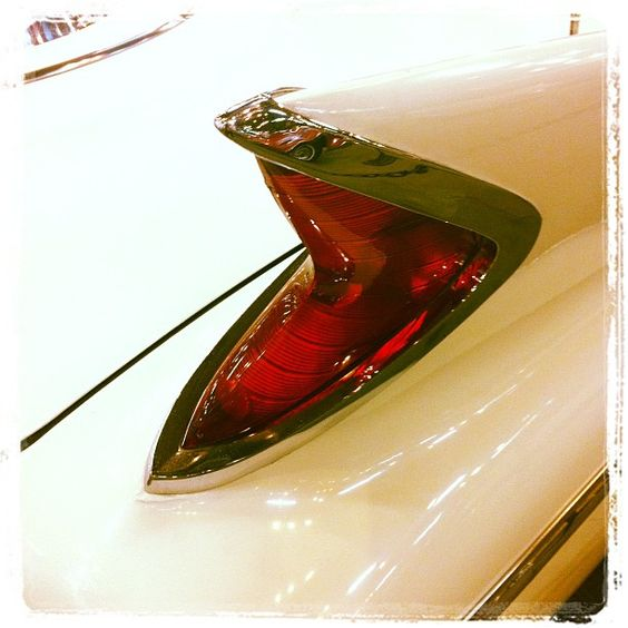 1960 Chrysler 300F. The fin starts at the windshield post!