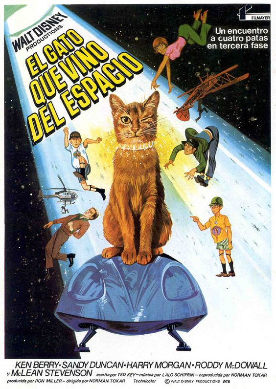 El gato que vino del espacio - The Cat From Outer Space