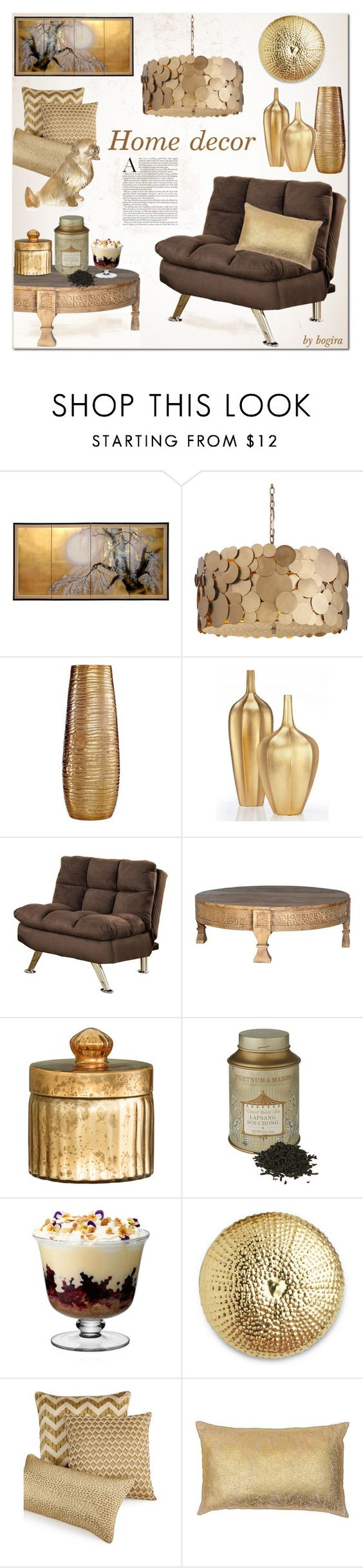 """Home decor"" by bogira ❤ liked on Polyvore featuring interior, interiors, interior design, home, home decor, interior decorating, DwellStudio, Simplydesignz, Venetian Worldwide and H&M"