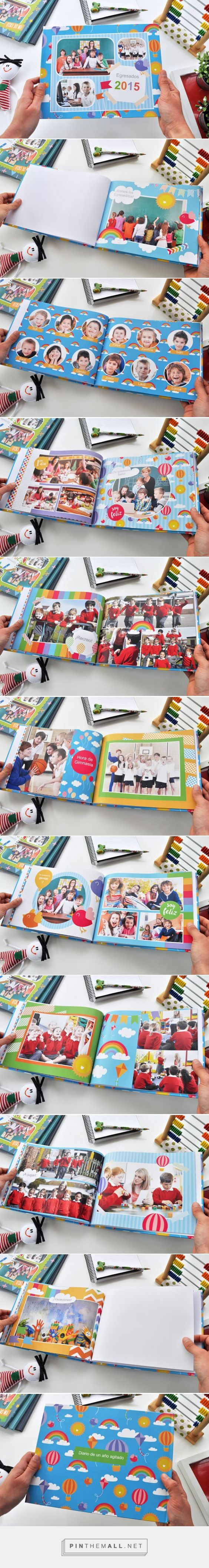 Anuario Arco Iris. Fotolibro 27,9 x 21,6 cm tapa dura. Fotolibro para descargar gratis y completar con tus fotos! | Blog - Fábrica de Fotolibros