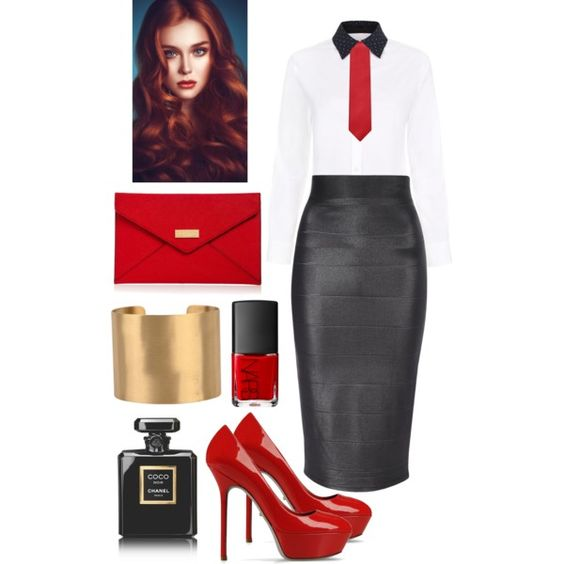 """Office chic #1"" by lynsetta on Polyvore"