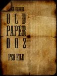 "160 ""old paper textures"" from DeviantArt"