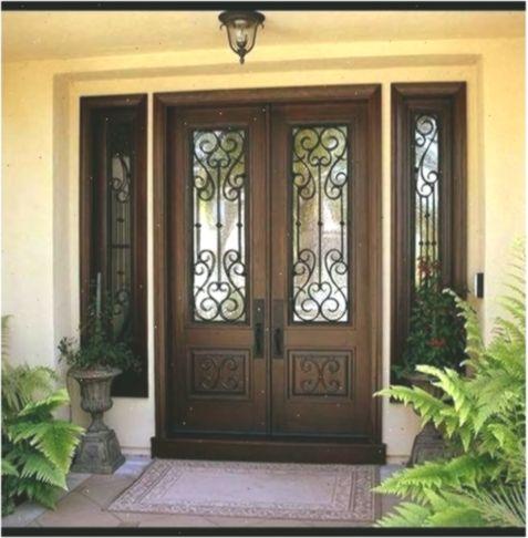 16 Ideas For Double Door Entrance Ideas House Doubledoor Door Double Doubledoorideas Entrance House Ideas In 2020 Front Door Design Door Design Exterior Doors