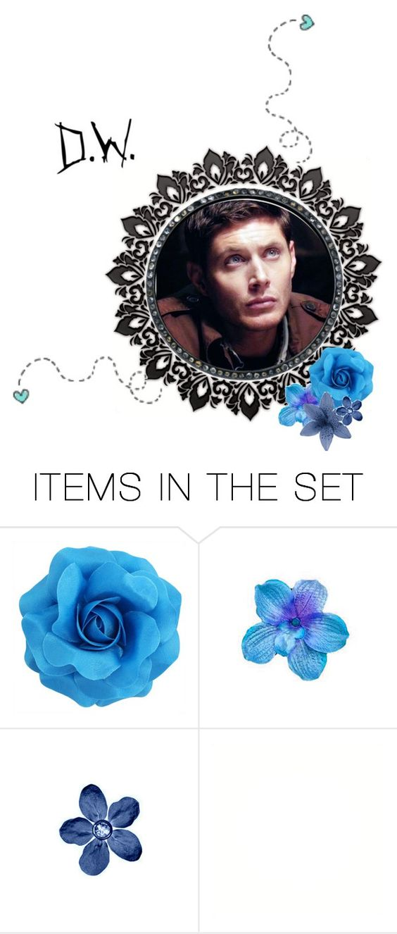 """Untitled #608"" by deanlover88 ❤ liked on Polyvore featuring art, supernatural, DeanWinchester, spn and SPNFamily"