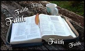 """I E P JEOVÁ - NISSI: """" A Fé """" Fé não vem através de processos genéticos naturais. A fé realmente tem uma ligação vital com sangue o sangue de Cristo , """"a quem Deus propôs para propiciação pelo Seu sangue , mediante a fé """" (Romanos 3:25) ."""