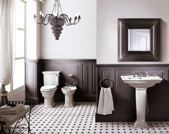 Arredamento in stile anni 20 - DevoneDevon firmano il bagno anni '20