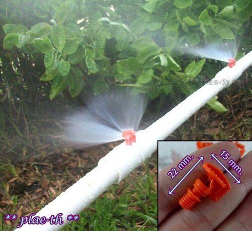Details Uber 50pcs Micro Garden Lawn Water Sprayer Vernebelungsduse Sprinkler Bewasserungssystem Lawn Sprinkler System Garden Watering System Garden Irrigation