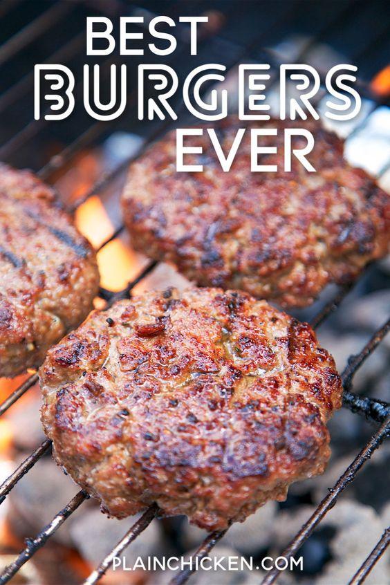 Best Burgers EVER! - Plain Chicken