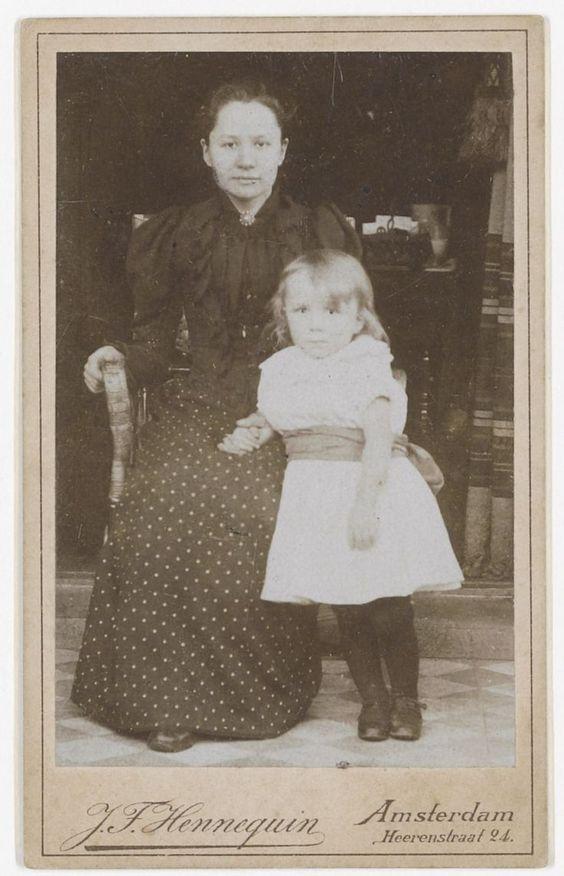 Jo van Gogh Bonger, widow of Theo van Gogh - with son Vincent Willem van Gogh | Thesis ...
