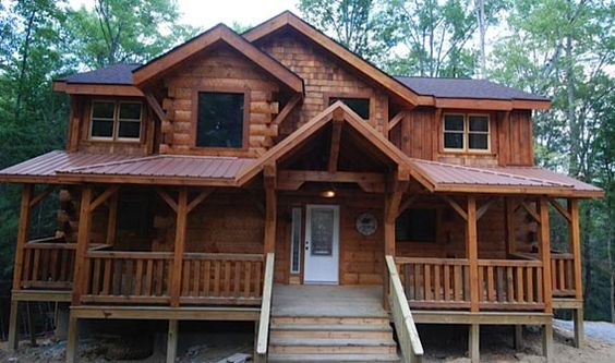 Cabin Rivers And Copper On Pinterest