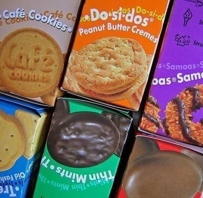 Recipes for all of the Girl Scout cookies!