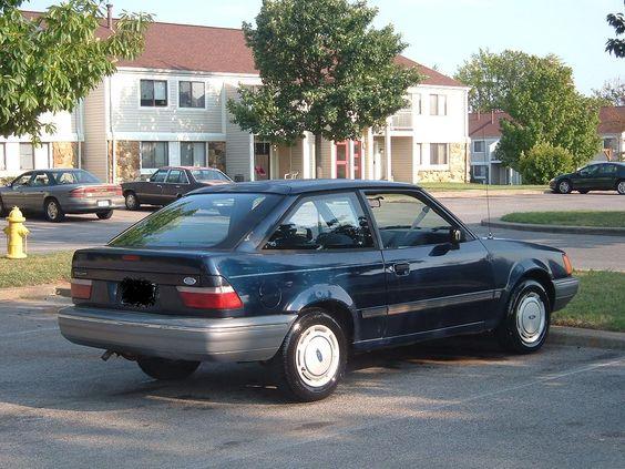 Car #2 - 1989 Ford Escort LX Hatchback Blue; Nickname  Junior Batmobile  | Cars I Have Owned | Pinterest | Ford escort Ford and Hatchbacks & Car #2 - 1989 Ford Escort LX Hatchback Blue; Nickname: