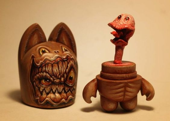 Страшные монстры и сказочные существа от Jason Jacenko - 141 работа