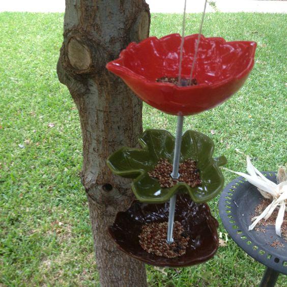 Diy bird feeder. Cost less than $10 to make!