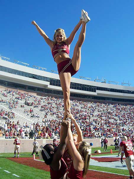 Noles know how to Cheer!