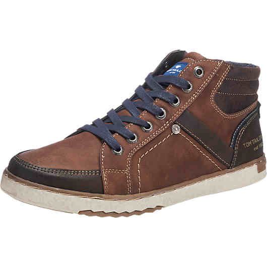 TOM TAILOR, TOM TAILOR Sneakers, braun | Sneaker, Herrenmode