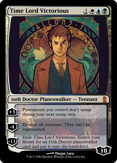 Time Lord Victorious card
