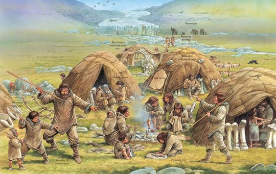 Q Files | A typical scene in the Ice Age around 20,000 years ago