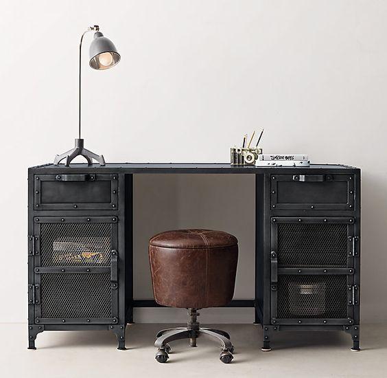 Hopper Desk 55 X 22 X 30 Liam Dylan Bedrooms