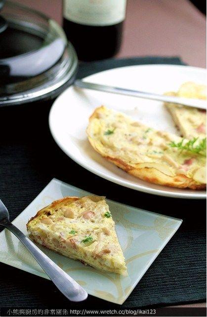 【食譜】平底鍋做法式培根乳酪馬鈴薯派—簡易派皮新作法 | 小熊與廚房的非常關係