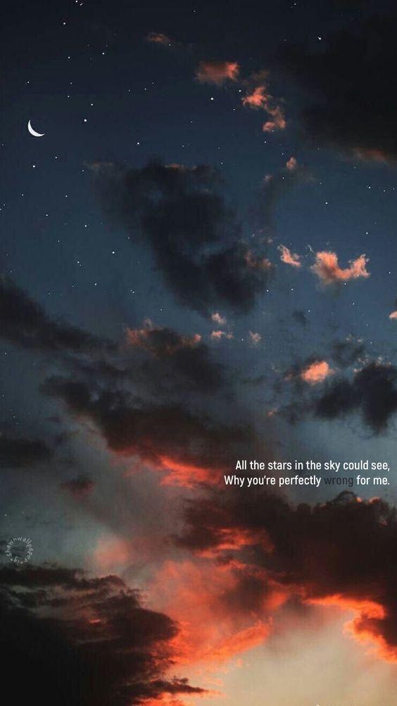 pin oleh nunnally di yo bijak pemandangan langit malam