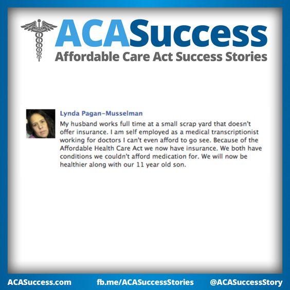 Lynda in Pennsylvania is self-employed, working for doctors she couldn't afford to see before #ACA. Fight the Negativity. #GetCovered #Obamacare #GetTalking #UniteBlue Like and Share with friends! http://facebook.com/ACASuccessStories http://twitter.com/ACASuccessStory