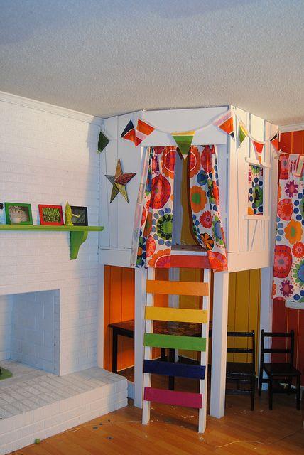 Do It Yourself Home Design: Indoor Tree House, Indoor And Indoor Trees On Pinterest