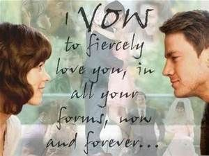 his vow