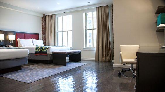 Most stylish hotels in Newark - http://traveluxblog.com/2015/03/10/most-stylish-hotels-in-newark/ #travel #wanderlust #hotel #luxury #boutique #style (Image Source: Hotel Indigo Newark / ihg.com)