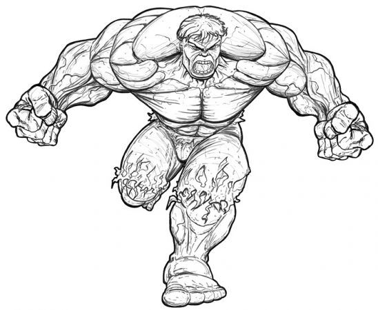 Hulk Ausmalbilder Hulk Ausmalen Painting Kinder Coloring Malvorlagen Hulk Sketch Hulk Art Spiderman Drawing
