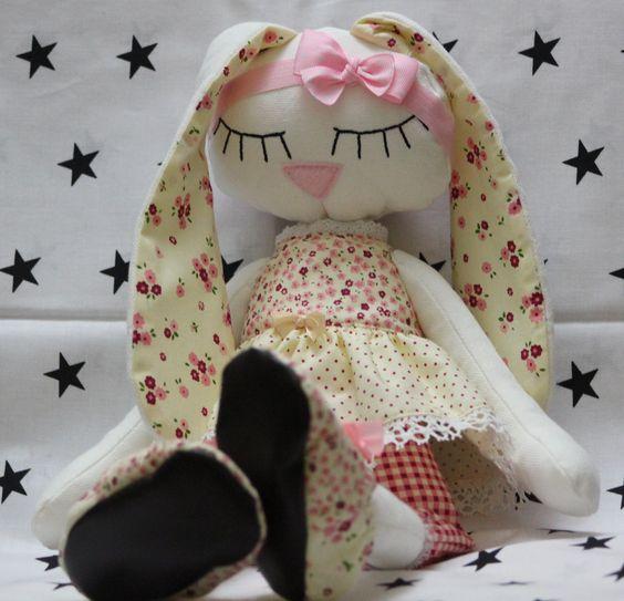 Текстильный заяц сплюшка комфортер