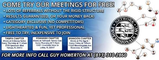 Npi Is The Perfect Solution For You In Tampa Bay To Generate Qualified Business Referral Fromprof Business Networking Business Network International Networking