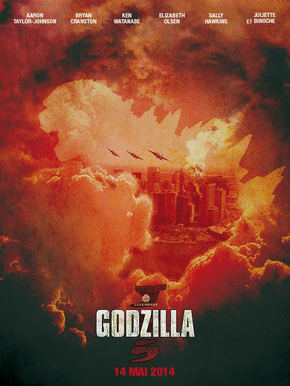 Godzilla par julienarbona