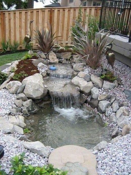 84 Diy Backyard Waterfall Ideas To Beautify Your Home Garden 1