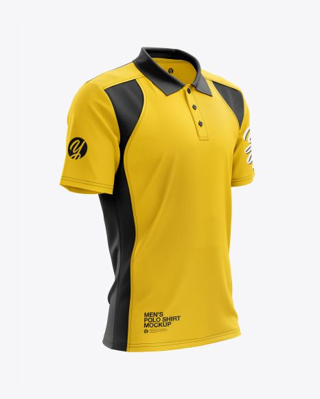 Download Men S Club Polo Shirt Mockup Right Half Side View In Apparel Mockups On Yellow Images Object Mockups Shirt Mockup Clothing Mockup Polo T Shirts