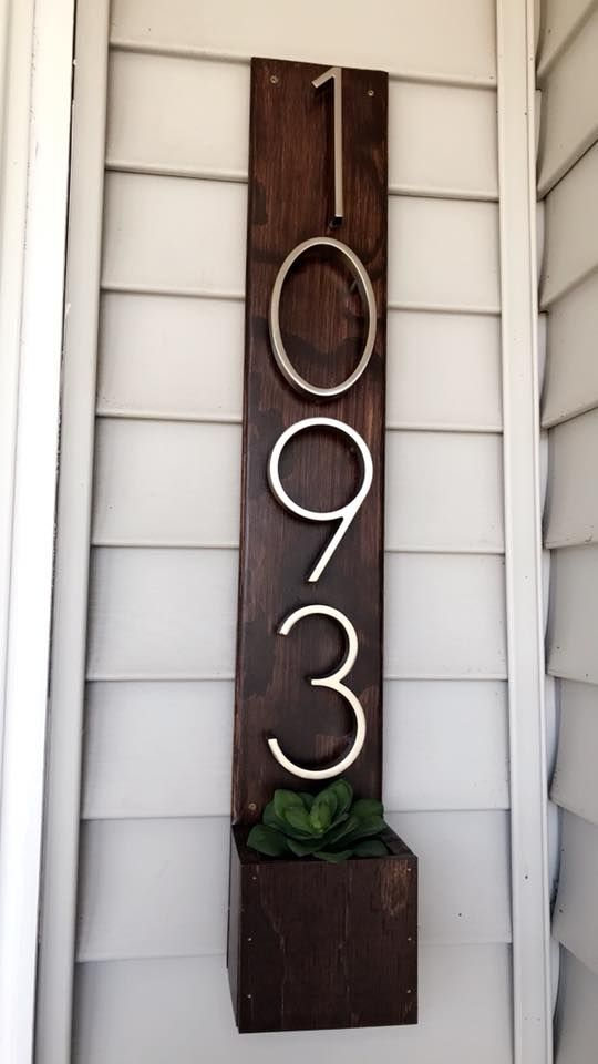 Ana White Address Sign Diy Projects Diy Address Sign Diy
