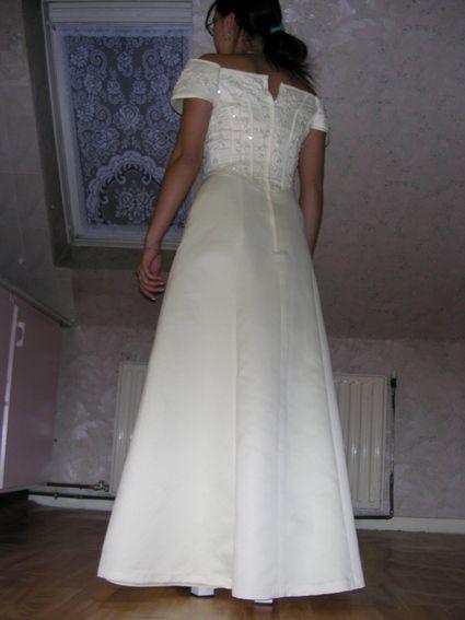 robe de soirée/mariée jaune pastel doccasion en 2013  Robes de ...