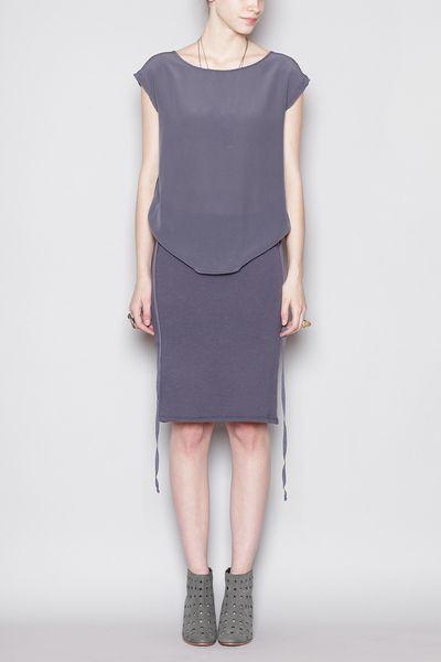 Totokaelo - Humanoid - Teun Dress - Nightshade