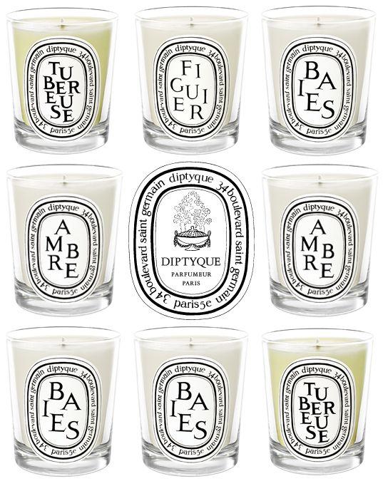 Great candle brand.  Diptyque.  Un incroyable répertoire de senteurs pour la maison