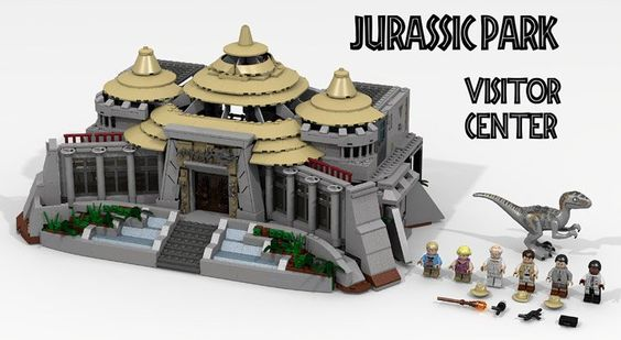 LDiEgo's Lego Jurassic Park Visitor Center