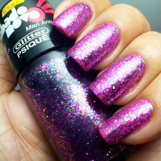Glitter Psiquê - Novo Toque - Babado Novo