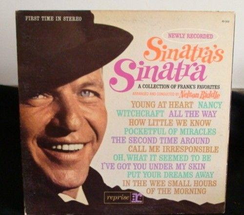 Frank Sinatra Sinatra's Sinatra Lp Near Mint