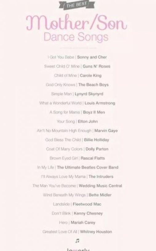 Super Wedding Songs Mother Son Receptions 21 Ideas Mother Son Dance Songs Mother Son Wedding Songs Wedding Dance Songs