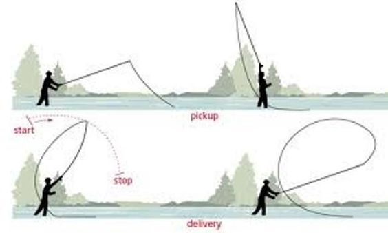 Nice the o 39 jays and fishing on pinterest for Fly fishing casting techniques