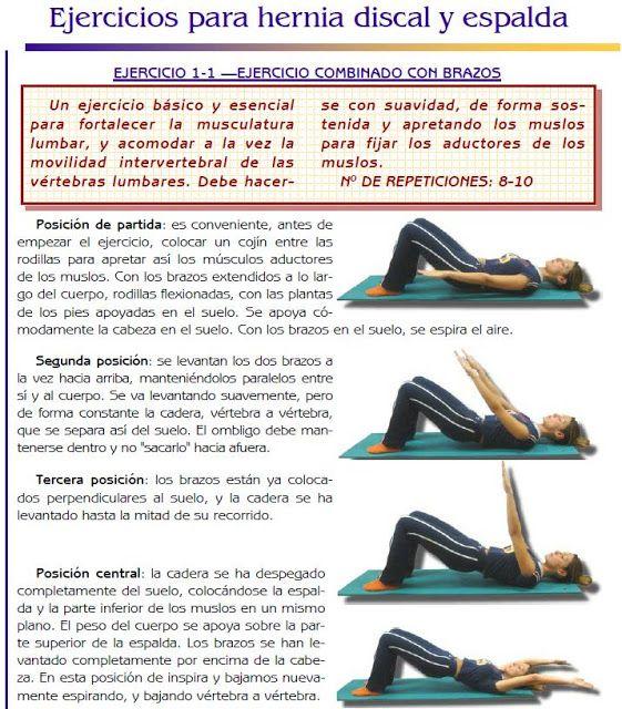 Masaje terapeutico y ejercicios para hernias discal y espalda for Silla oficina hernia discal