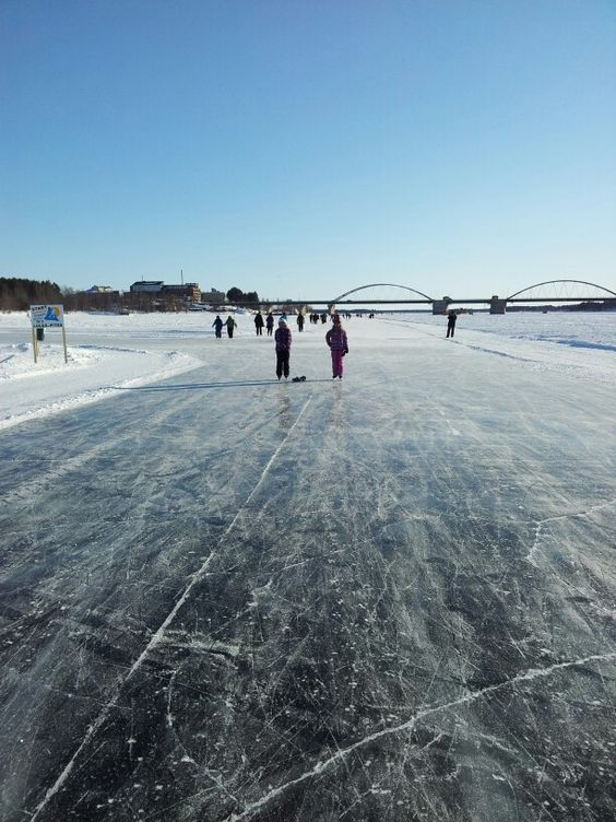Skating in Luleå