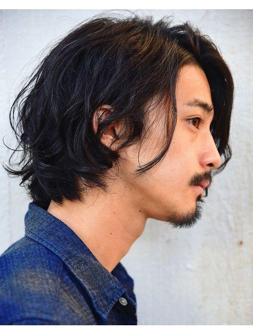 êーピース Lepes Ť§äººã®ãƒŸãƒ‡ã'£ã'¢ãƒãƒ«ãƒ¼ã'ºãƒ'ーマ »ミウェット Asian Hairstyles Men Hairstylesmen Asianhairstylesmen Asian Men Long Hair Asian Hair Long Hair Styles Men