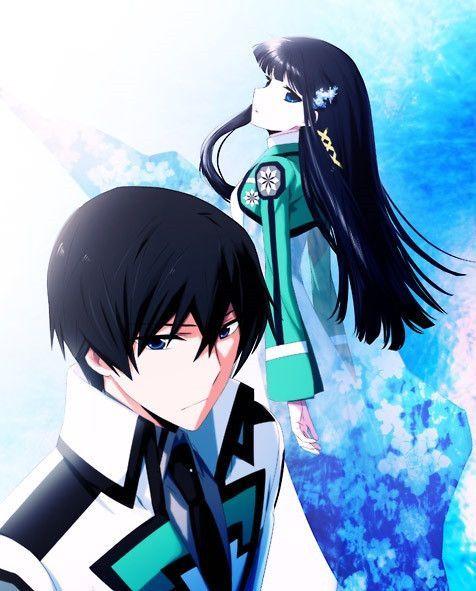 Die Unregelmassigen An Der Magic High School With Images Anime